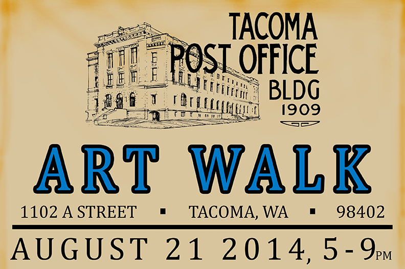 Another Tacoma Post Office Building ART WALK Spaceworks